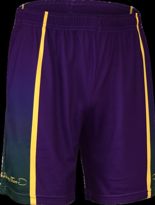 School Unisex Longer Leg Sports Shorts Front View
