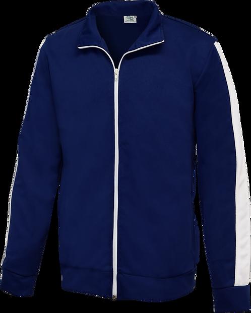 School Zip Fleece Jacket Front View