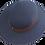 High Crown Formal School Hat top view
