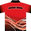 Sublimated Sports House Polo Back View Red