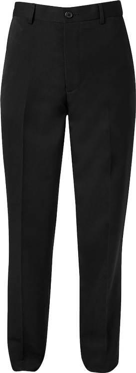 Boys School Uniform Trouser Front View Black
