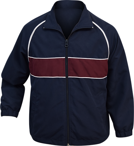School Sports Jacket Front View