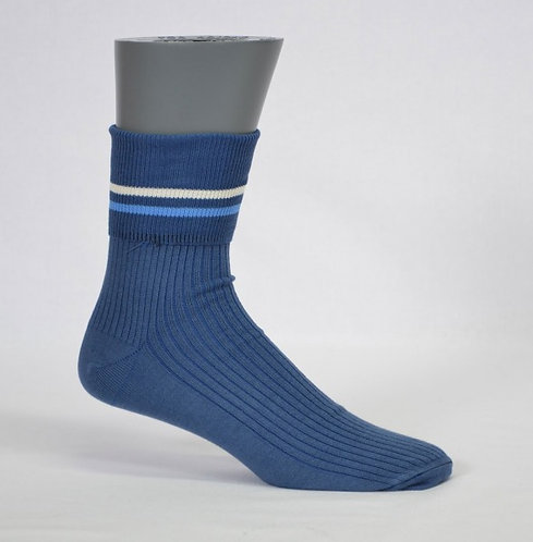 school sock striped