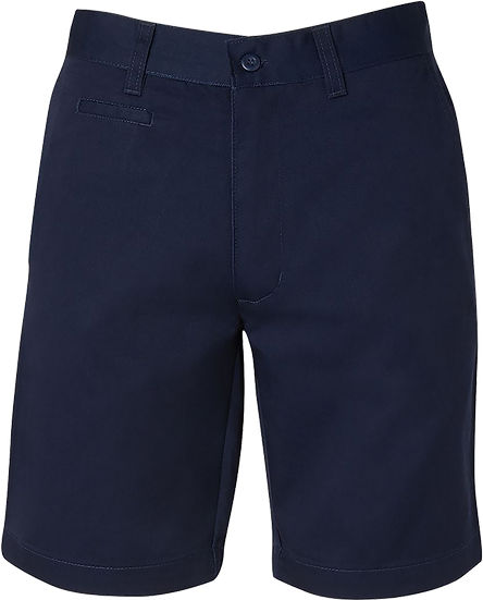 Boys School Shorts Front View