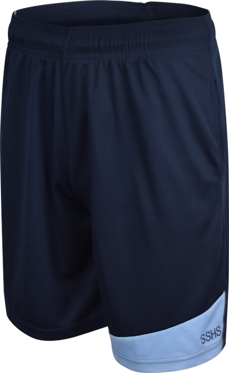 Unisex School Sports Shorts Front View