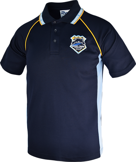 School Panel Polo Front View