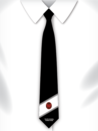 School Music Tie Design