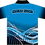 Sublimated Sports House Polo Back View Blue