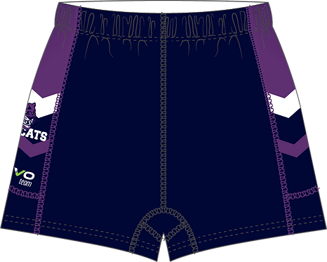 Sublimated Teamwear Sport Gym Pant Front View