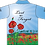 Sublimated ANZAC Remembrance Polo Back View