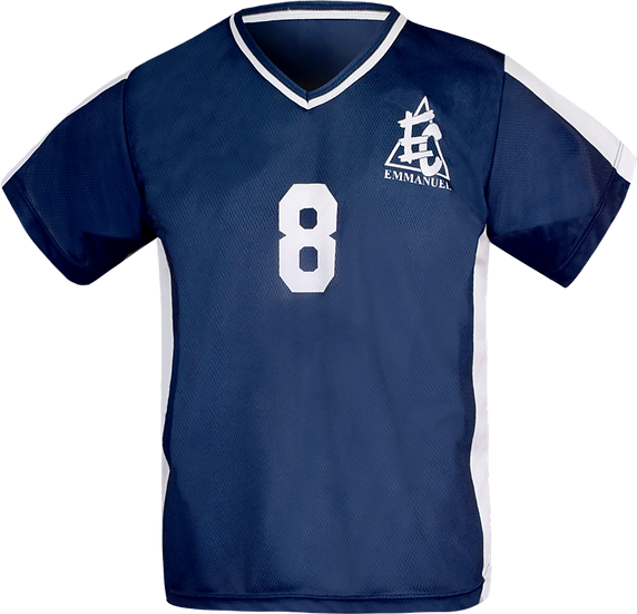 Sublimated Teamwear Sport V-Neck T-shirt Front View