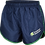 School Athletic Shorts Front View