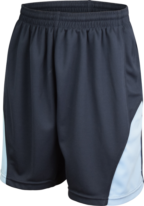 Ladies School Sports Shorts Front View
