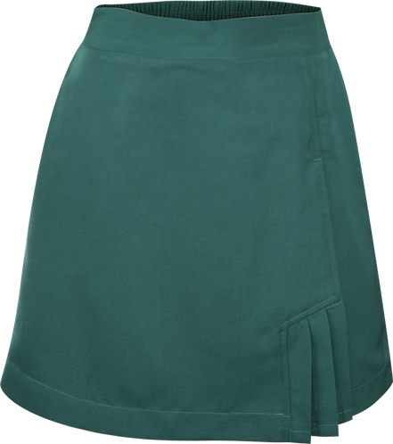 Elastic Back School Skort Front View