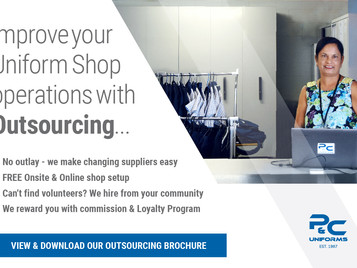 Improve your uniform shop operations with our all-in-one Outsourcing solution