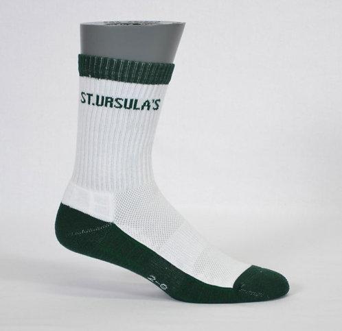 half terry school sock contrast