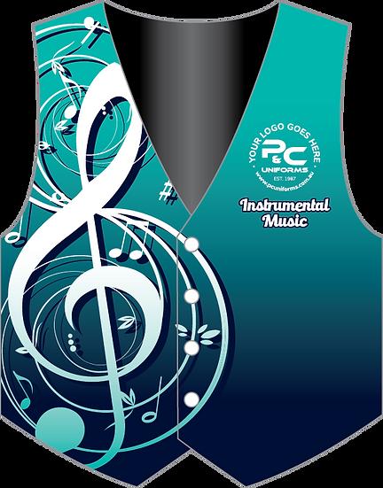MUS004 | Sublimated School Music Vest