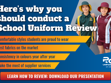 Here's why (and how) you should conduct a School Uniform Review...