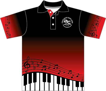 MUS059 | Sublimated School Music Polo