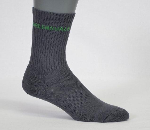 half terry school sock side view