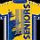 Sublimated Senior School Leavers Graduation Polo Back View