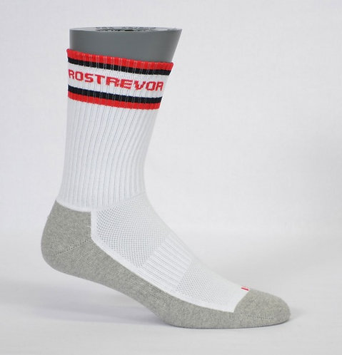 half terry school sock banded side view