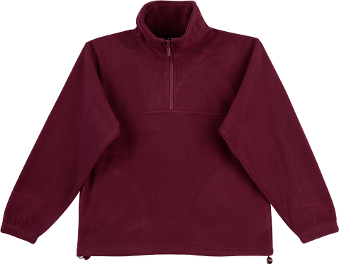 PF01 Buller Pullover front view maroon