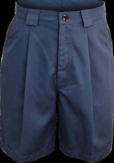 Ladies Single Pleat School Shorts Front View