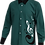 Sublimated School Music Shirt Green Front View