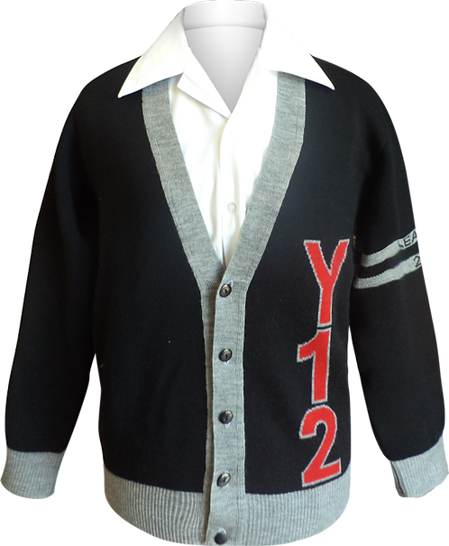 School College Knit Jumper Front View