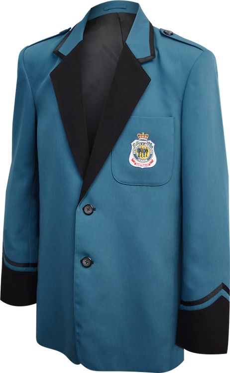 Music Blazer Front View