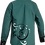Sublimated School Music Shirt Green Back View