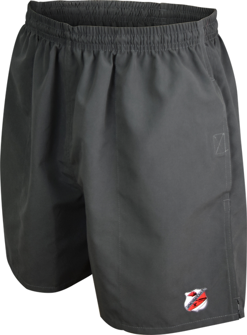 School Unisex Sports Shorts Front View