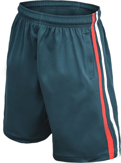 Unisex SchoolSports Shorts Front View