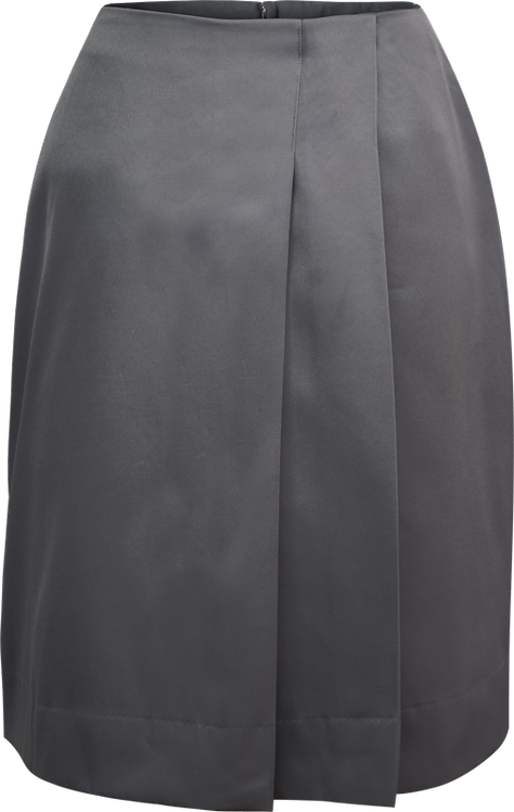 School Side Pleated Skirt Front View