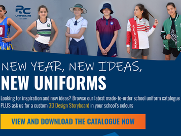 New Year, New Ideas, New Uniforms! Browse our schoolwear catalogue.