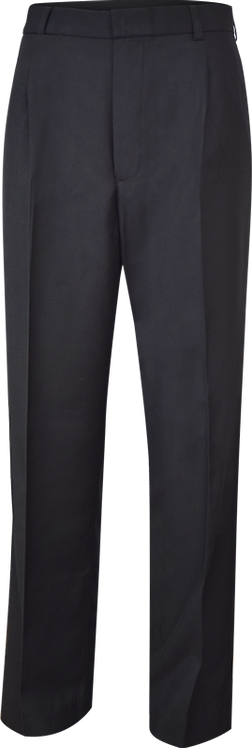 Flat Front College Trouser Front View