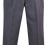 College Double Pleat School Trouser Front View