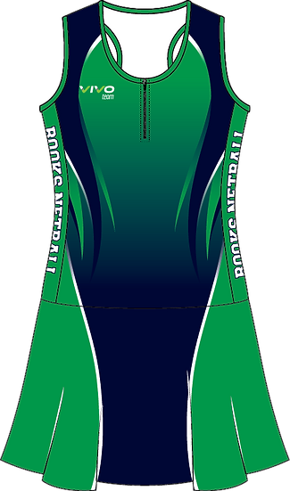 Sublimated Teamwear Netball Suit Front View