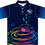 Sublimated Music Polo Front View