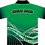 Sublimated Sports House Polo Back View Green