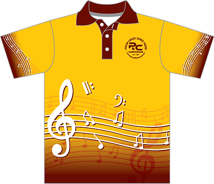 MUS006 | Sublimated School Music Polo