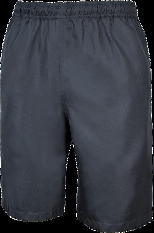 Elastic Waist School Shorts Front View