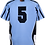 Sublimated Teamwear Sport Shirt Back View