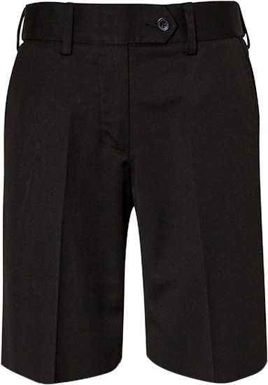Girls School Shorts Front View