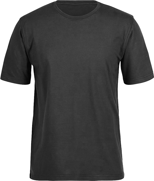 Black T-Shirt front view
