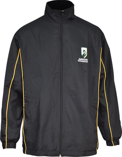 School Sports Jacket with Piping Front View