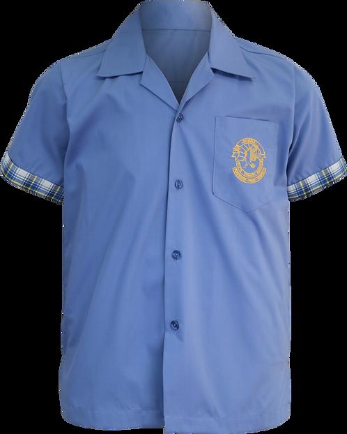 School Uniform Shirt Front View