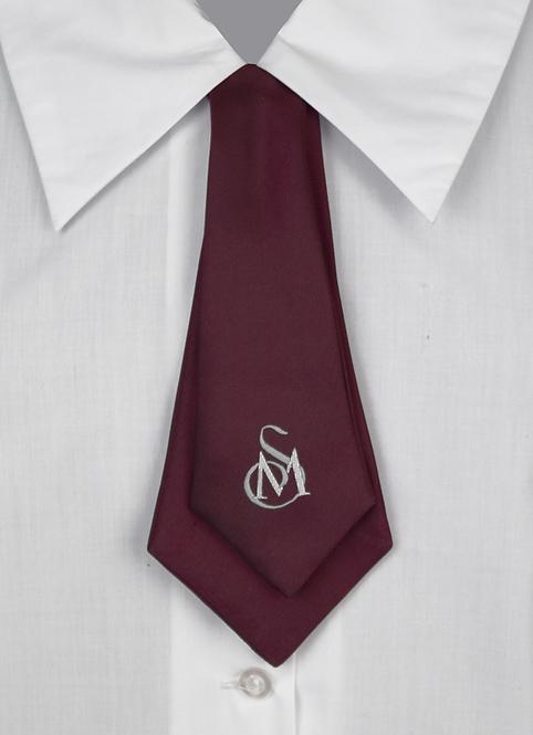 School Girls Button-On Tie