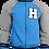 Seniors Fleece Zip Jacket Front View